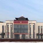 Ледовый дворец г. Кызыл