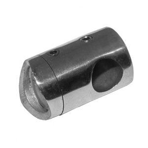 Ригеледержатель для стойки 42,4 отв. 12 мм
