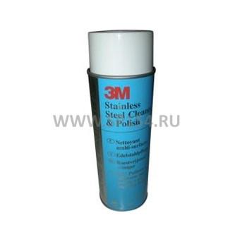 Аэрозоль для чистки и полировки поверхностей из нержавеющей стали ЗМ Cleaner&Polish