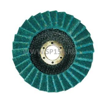 Круг лепестковый торцевой нетканый G-Grind «VF»d 125